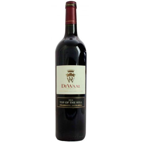 De Waal Top of the Hill Pinotage 2015