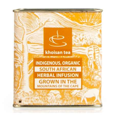 Khoisan Organic Honeybush Tea Tin 100g