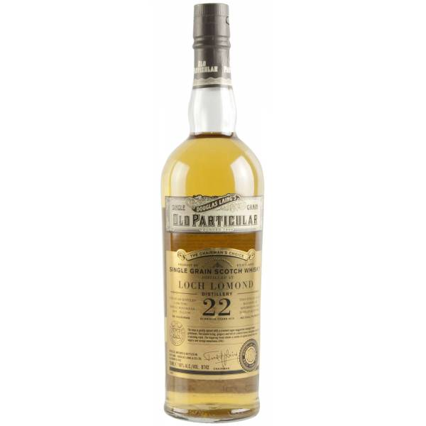 Old Particular Loch Lomond 22 Year Old Whisky