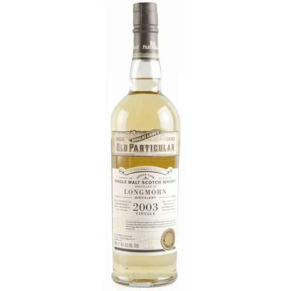 Old Particular Longmorn 14yr Old Whisky DL12543