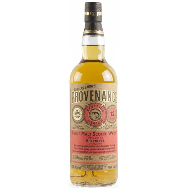Provenance Benrinnes 12YO Single Malt Whisky