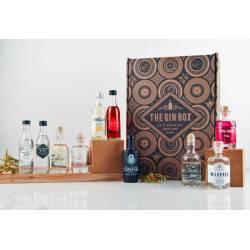 Gin Box Tasting Box (x10 mini gins) d