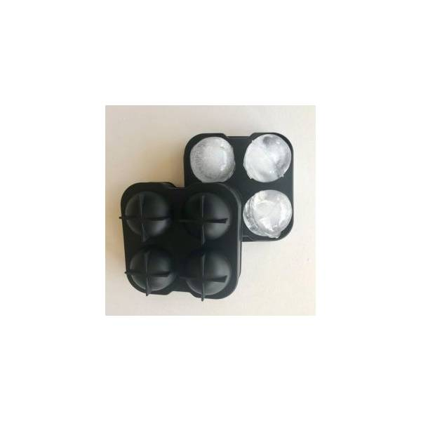 Gin box - 4 ball silicone ice cube tray