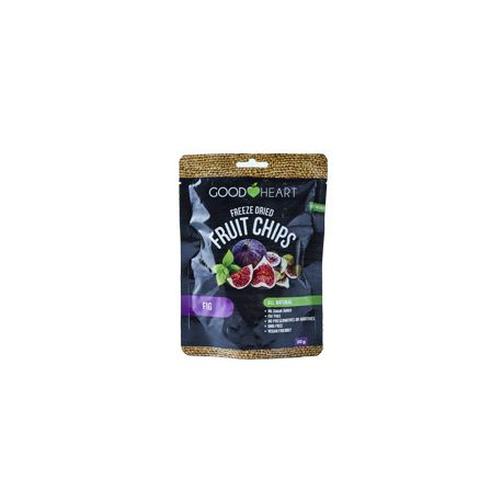 Good Heart Freeze Dried Strawberry Fruit Chips 20g
