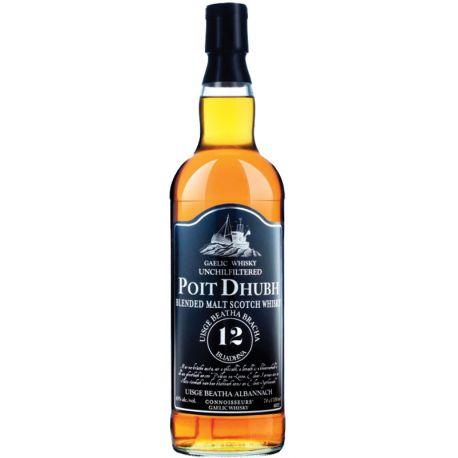 Poit Dhubh 12 Year Old Blended Malt Whisky