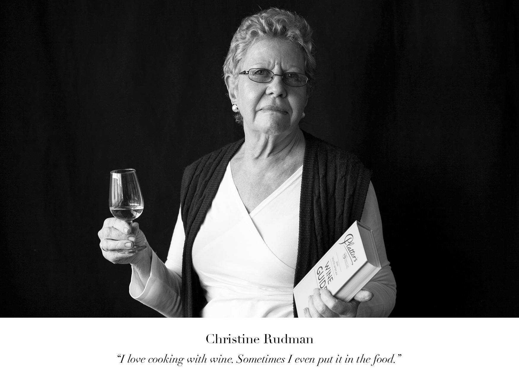 Christine Rudman Wine of the Month Club wine judge