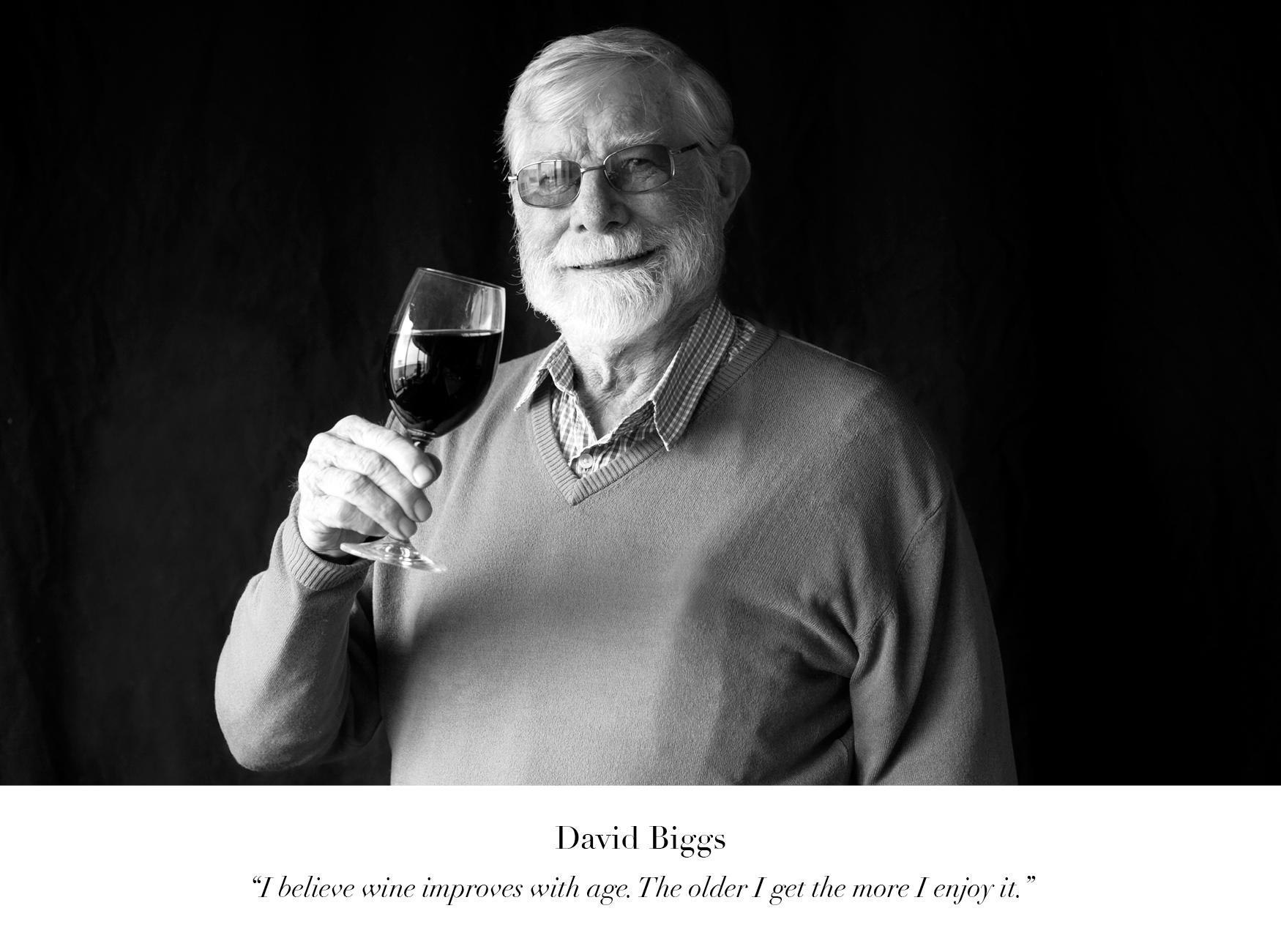 David Biggs Wine of the Month Club wine judge