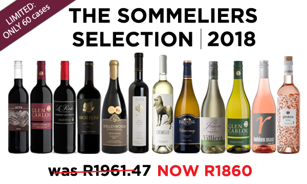 Special Offer   The Sommeliers Selection 2018   R1860